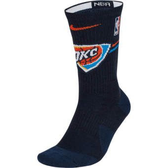NIKE NBA OKLAHOMA CITY THUNDER ELITE CREW SOCKS