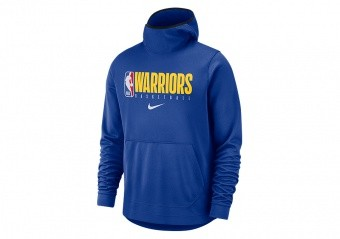 NIKE NBA GOLDEN STATE WARRIORS SPOTLIGHT HOODIE RUSH BLUE