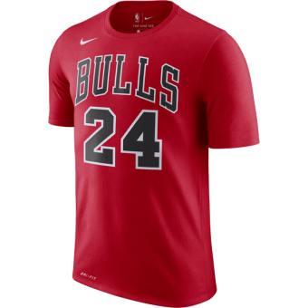 NIKE NBA CHICAGO BULLS LAURI MARKKANEN Dri-FIT TEE