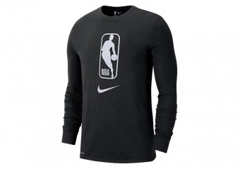 NIKE NBA TEAM 31 DRY LONG-SLEEVE TEE BLACK