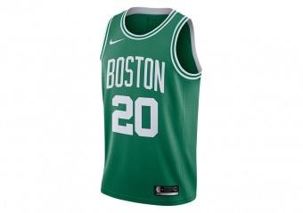 NIKE NBA BOSTON CELTICS GORDON HAYWARD ICON EDITION SWINGMAN ROAD JERSEY CLOVER