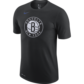NIKE NBA BROOKLYN NETS CITY EDITION LOGO DRI-FIT TEE