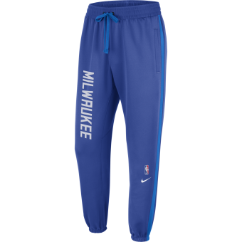 NIKE NBA MILWAUKEE BUCKS SHOWTIME CITY EDITION THERMA FLEX PANTS