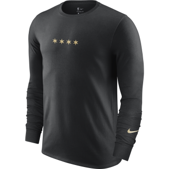 NIKE NBA CHICAGO BULLS COURTSIDE CITY EDITION LONG-SLEEVE TEE