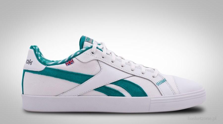 REEBOK CLASSIC TENNIS VULC WHITE FLAT GREEN