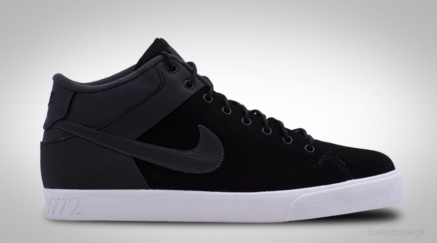 NIKE COURT TOUR MID LTHR WINTER BLACK