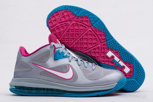 hot sale online f73a5 26254 NIKE LEBRON 9 LOW FIREBERRY WBF ...