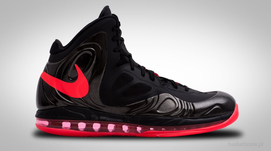 NIKE AIR MAX HYPERPOSITE BLACK CRIMSON