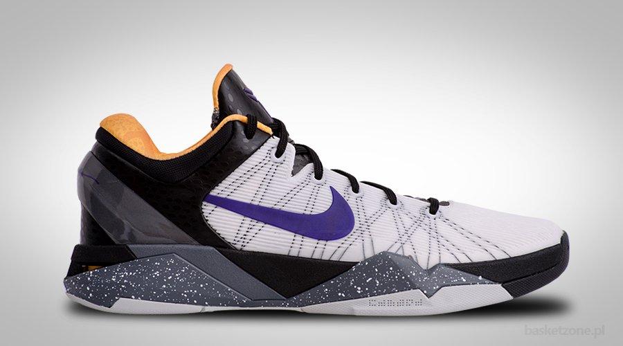 Nike Zoom Kobe 7 Unisex Basketball Shoes White/Gold /Nike Jordan [ N1185]
