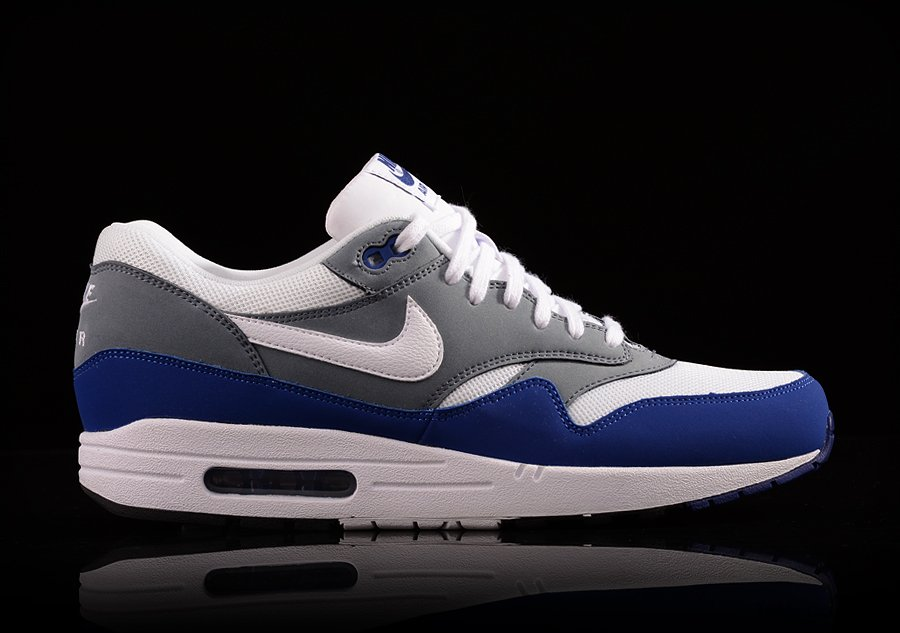 nike air max 1 essential deep royal blue & white jordan