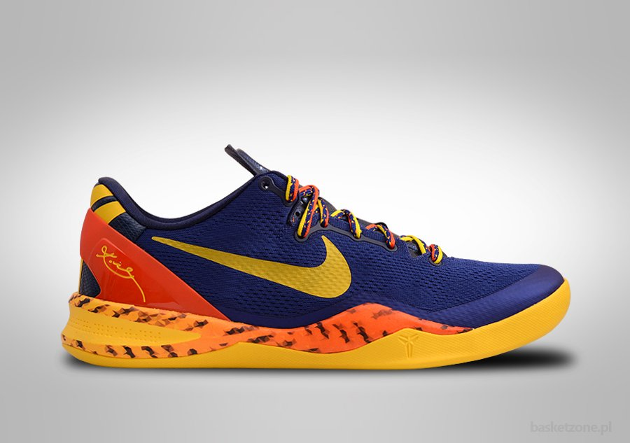 best sneakers 1f6a9 76955 NIKE KOBE 8 SYSTEM BARCELONA DEEP ROYAL BLUE TOUR YELLOW price €112.50    Basketzone.net