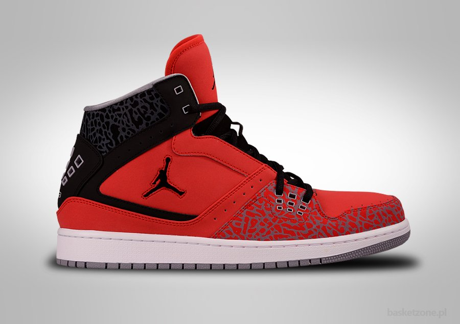 air nike jordan red and black