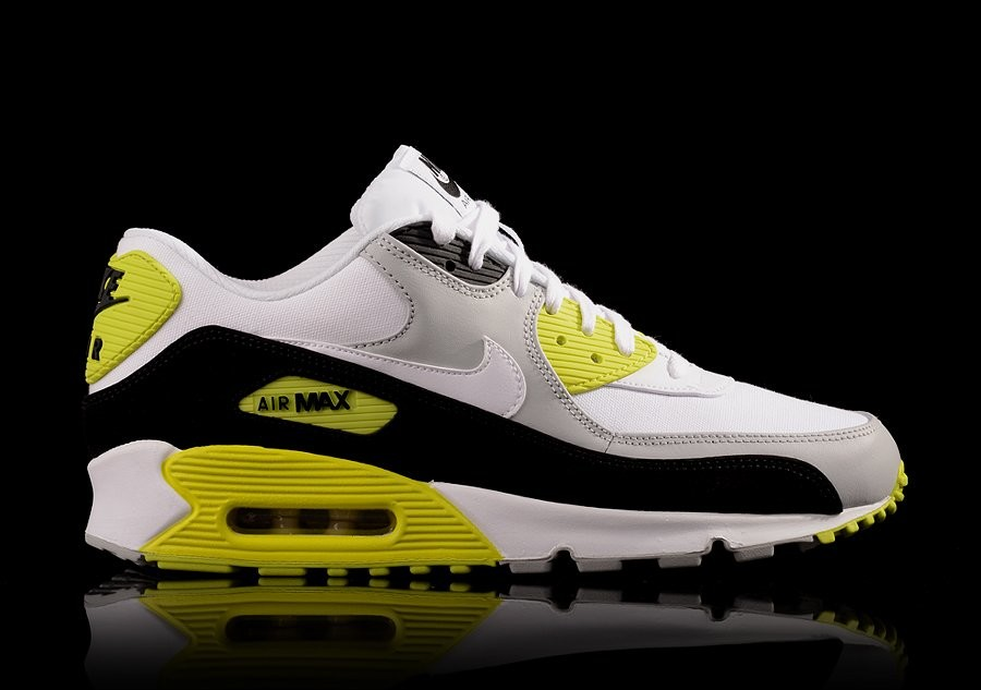NIKE AIR MAX 90 PREMIUM STRATA GREY WHITE BLACK CYBER