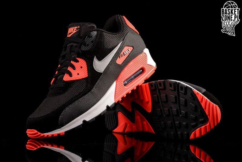 nike air max 90 essential schwarz infrared