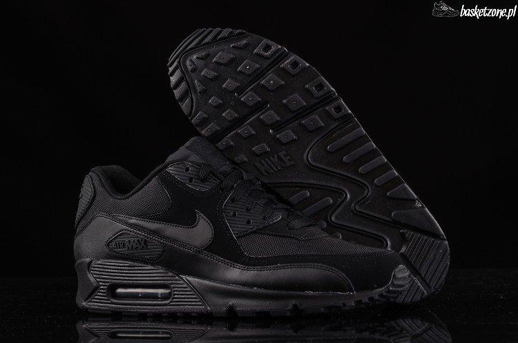 nike air max 90 essential all black