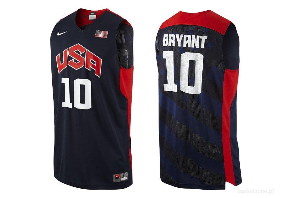 Kobe Bryant Backpacks >> NIKE FEDERATION REPLICA JERSEY USA BASKETBALL TEAM KOBE BRYANT price €65.00 | Basketzone.net