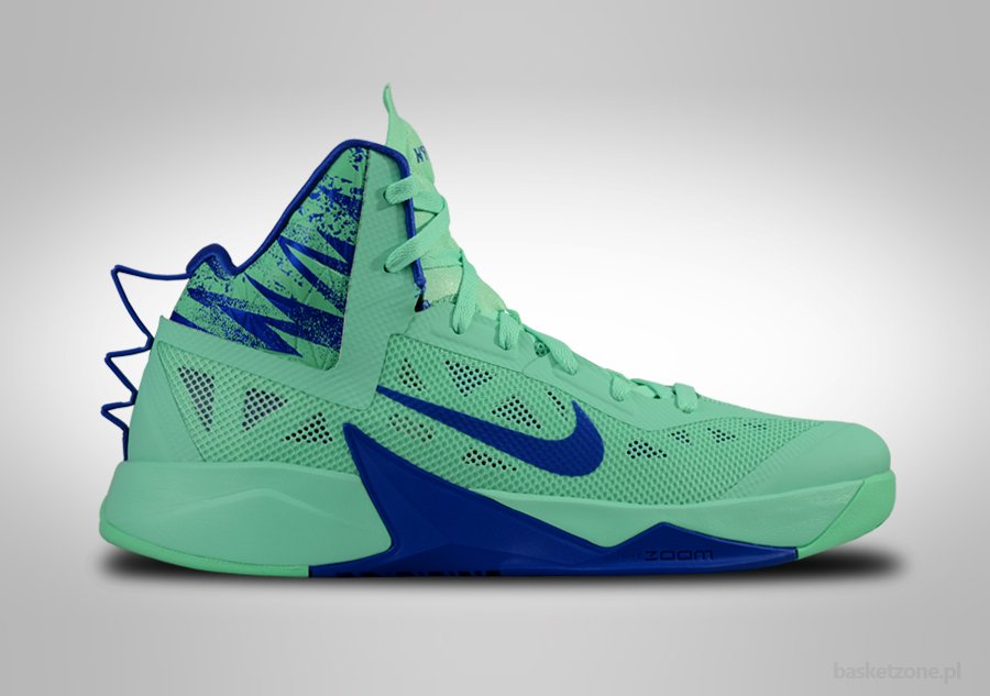 NIKE ZOOM HYPERFUSE 2013 GREEN GLOW