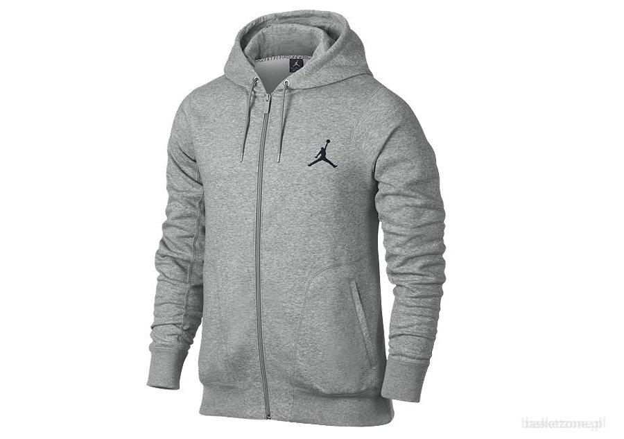 herren air jordan alle around pullover hoodie hoody grau. Black Bedroom Furniture Sets. Home Design Ideas