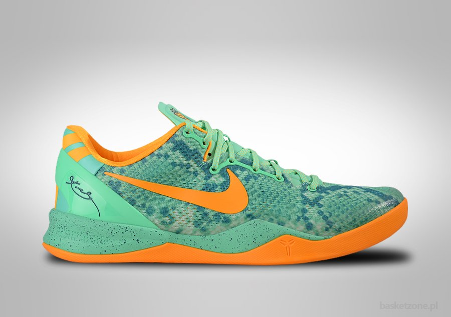 low cost 2669b d553d coupon for nike kobe 8 system green glow laser orange price 105.00  basketzone 5ca1f 2bd3f