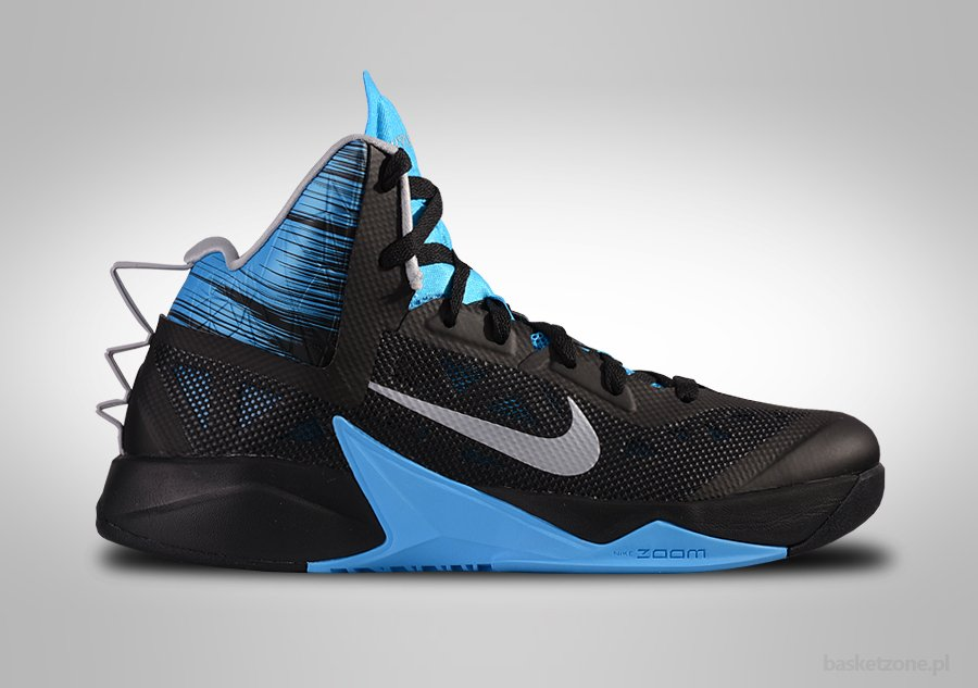 NIKE ZOOM HYPERFUSE 2013 BLACK PHOTO BLUE price €82.50 ...