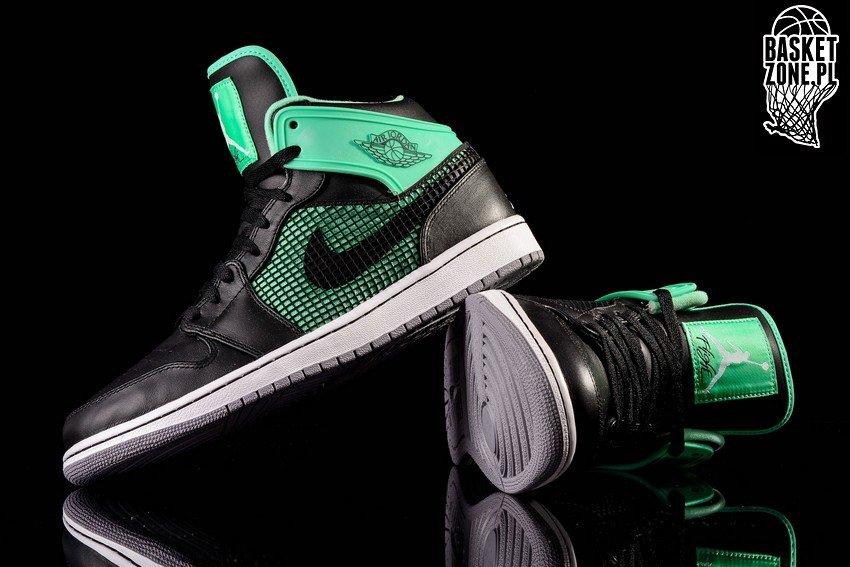 Nike Air Jordan En Retro '89 Svart Grønn Glød 2XWjLvp