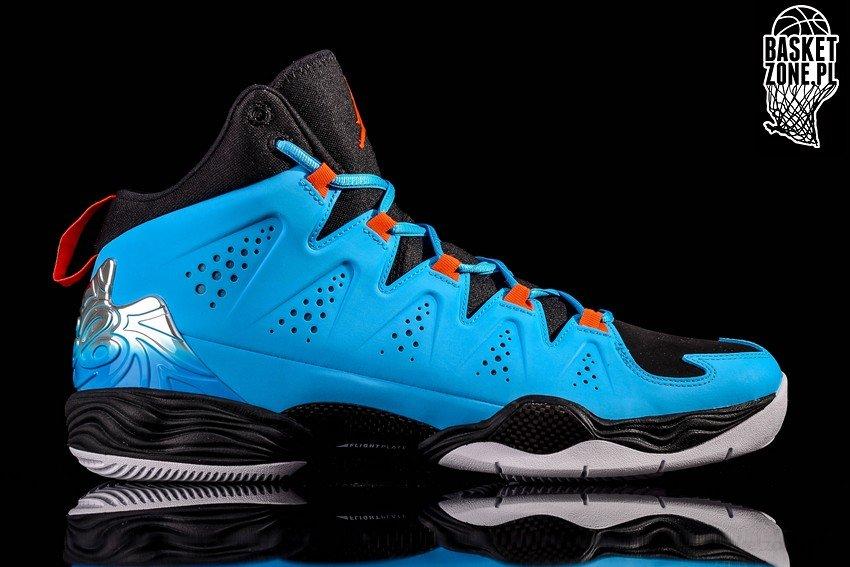 d9477646e5340b Buy Nike Air Jordan Melo M10 Black Dark Blue Orange