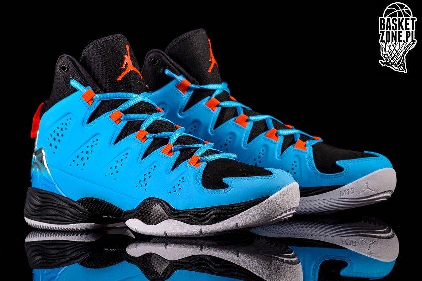 Buy Nike Air Jordan Melo M10 Black Dark Blue Orange