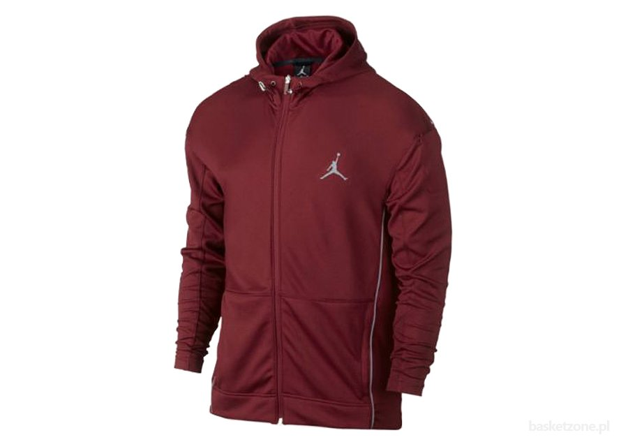 NIKE AIR JORDAN S.FLIGHT HOODY RED