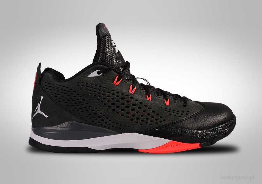 NIKE AIR JORDAN CP3.VII BLACK GYM RED