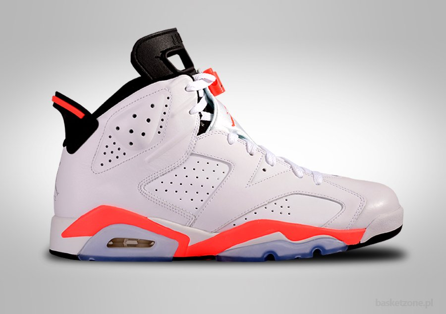 NIKE AIR JORDAN 6 RETRO WHITE INFRARED price €207.50  Basket