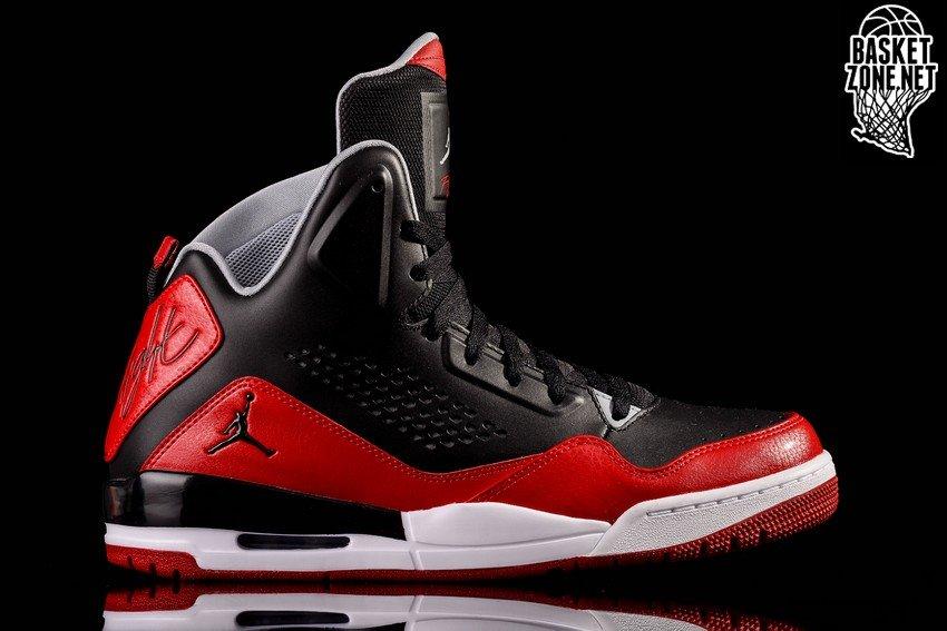 Air Jordan Sc 3 Salle De Sport Noir Gris Rouge De Loup