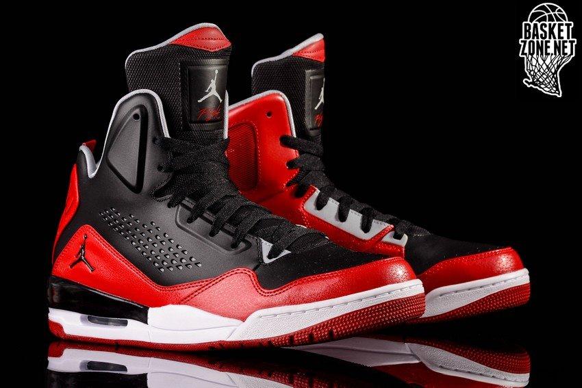 Nike Air Jordan Sc-3 Salle De Sport Jordan Rouge Noir