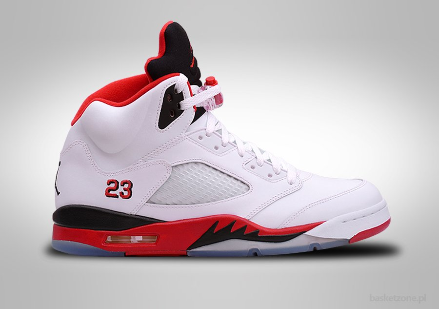 Retro  Fire Red Shoes