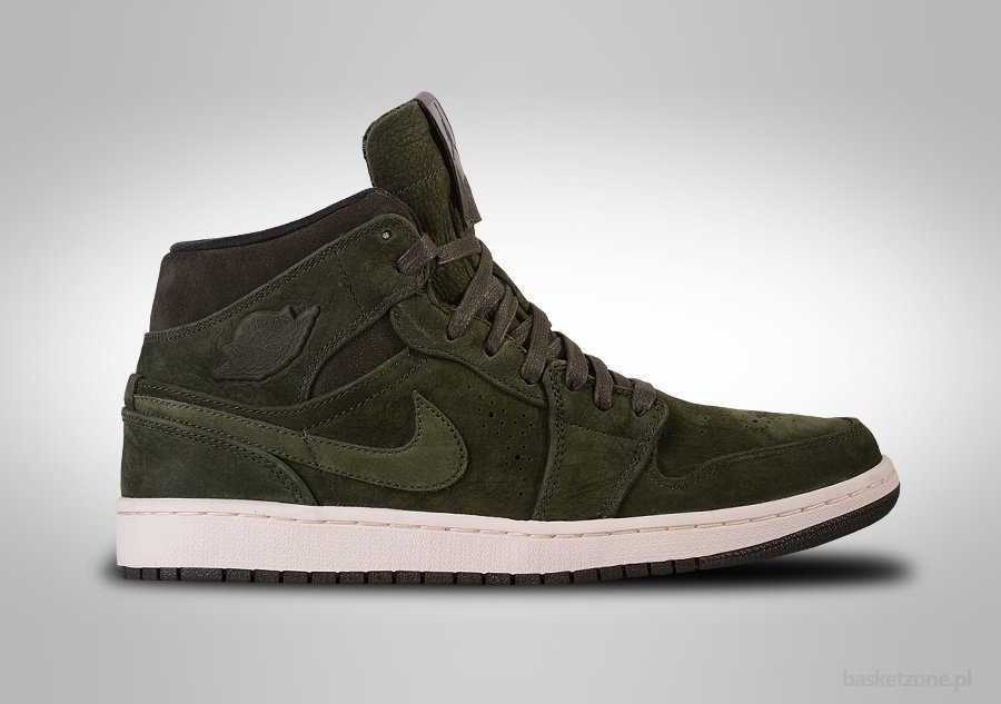 air jordan 1 mid nouveau sequoia