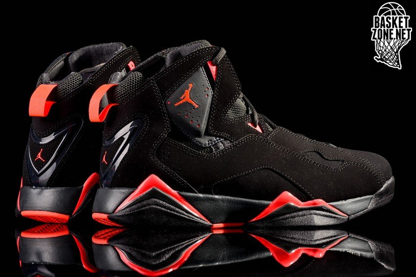Air Jordan Vrai Vol Infrarouge Noir