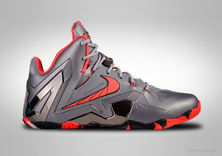 new product 3009b 9868f NIKE LEBRON XI ELITE TEAM WOLF GREY CRIMSON price €165.00   Basketzone.net