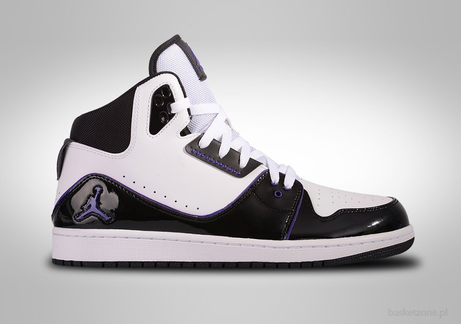 f78d221b339 NIKE AIR JORDAN 1 FLIGHT 2 WHITE BLACK CONCORD price €87.50 | Basketzone.net