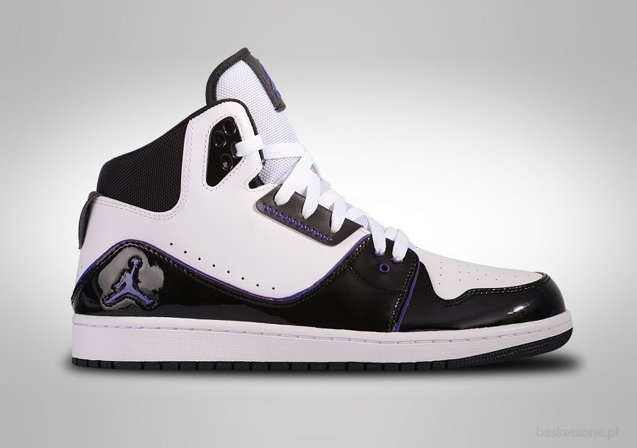 NIKE AIR JORDAN 1 FLIGHT 2 WHITE BLACK CONCORD