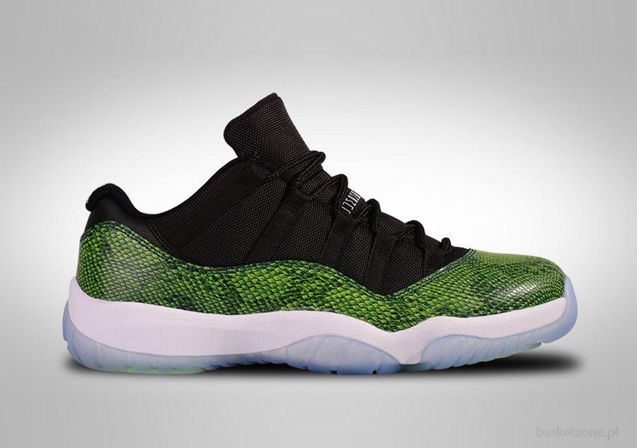 Jordan 11 Low Snakeskin
