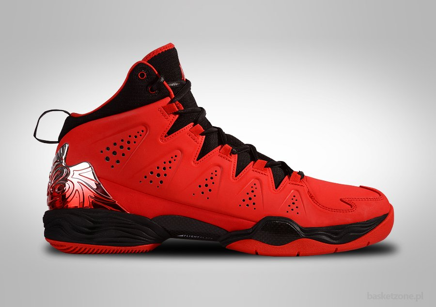 NIKE AIR JORDAN MELO M10 FIRE RED