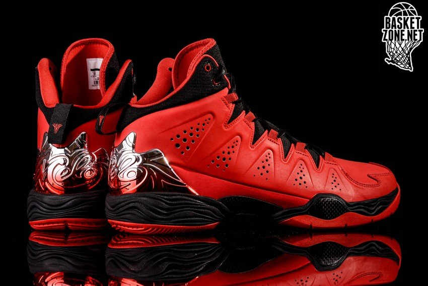 Nike Air Jordan Melo M10 Fire Red Black