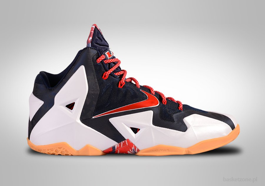 NIKE LEBRON XI USA INDEPENDENCE DAY for €142,50 ...