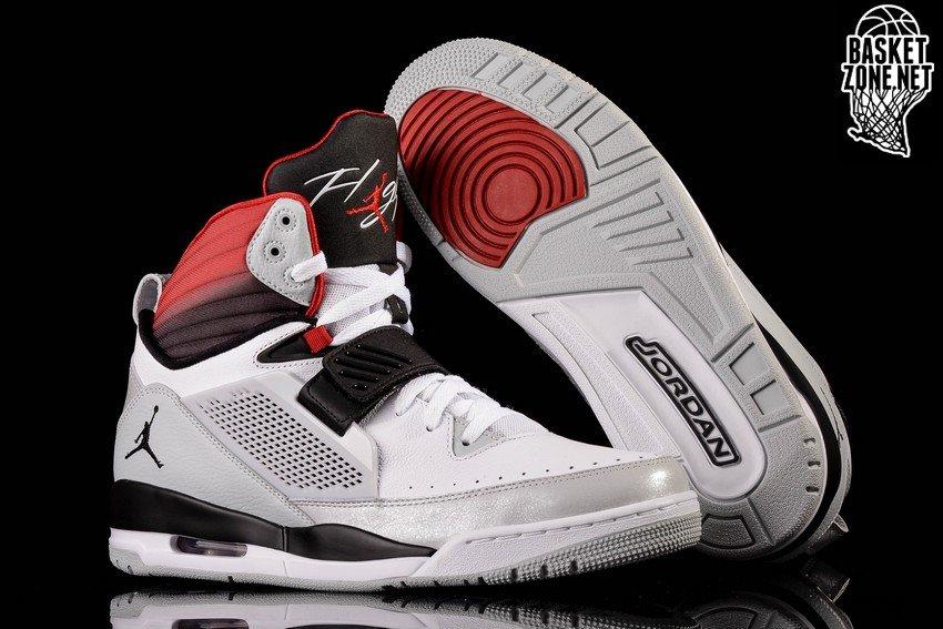 Nike Air Jordan Flight '97 White Black Gym Red