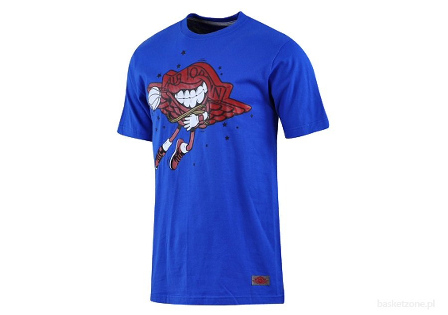 NIKE AIR JORDAN WINGS CHARACTER TEE BLUE