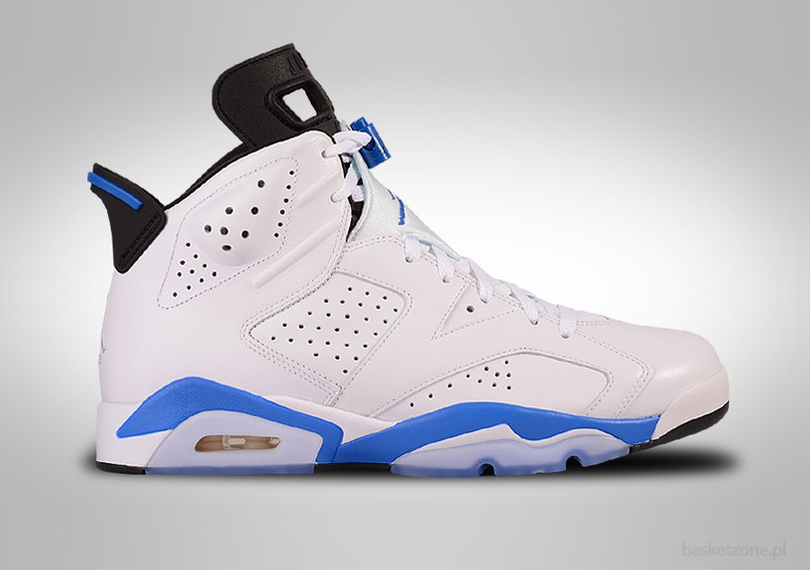 NIKE AIR JORDAN 6 RETRO SPORT BLUE GS GRADE SCHOOL (SMALLER SIZES)