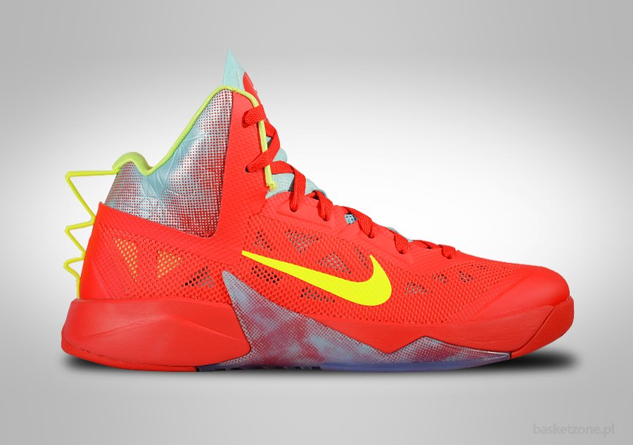 nike zoom hyperfuse 2013 red