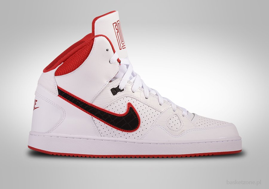 8063712b97f6 NIKE SON OF FORCE MID WHITE BLACK-GYM RED price €65.00