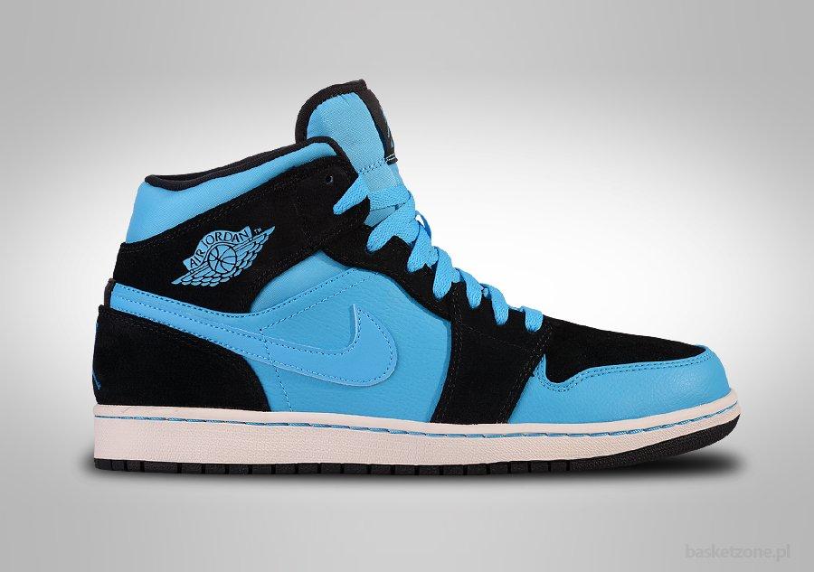 Nike Air Jordan 1 Retro Mediados Polvo De Color Azul