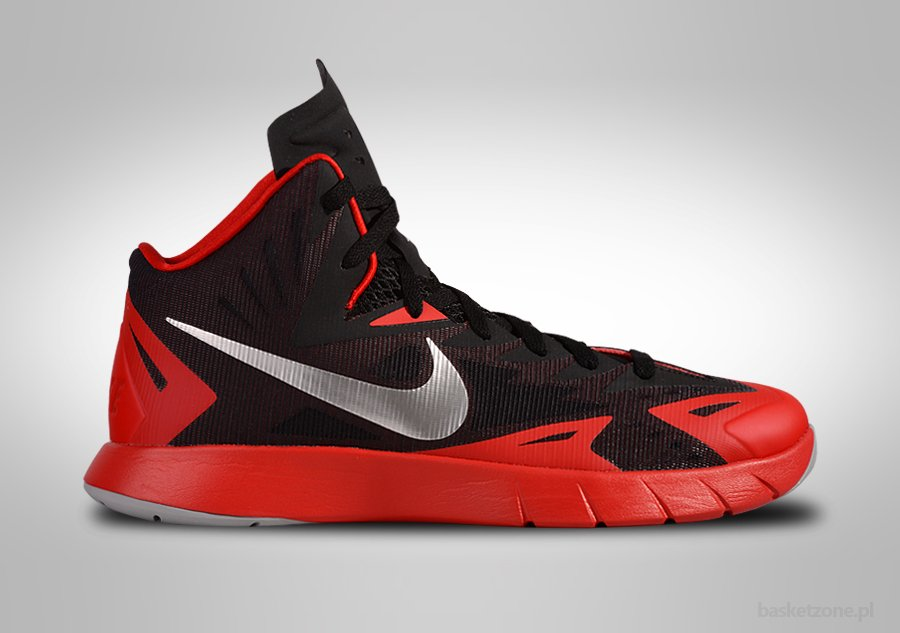 outlet store dc56d 0cc23 NIKE LUNAR HYPERQUICKNESS UNIVERSITY RED price €89.00   Basketzone.net