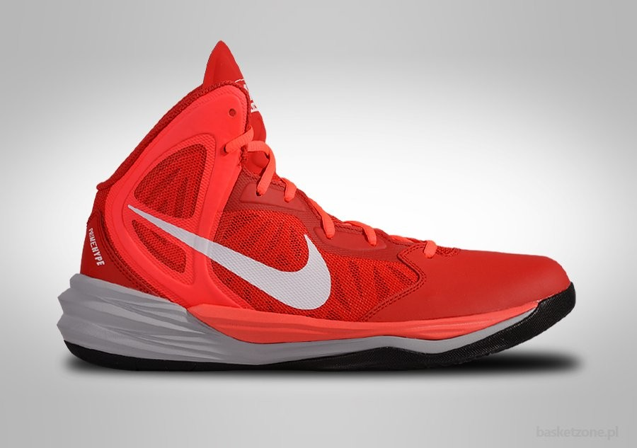 NIKE PRIME HYPE DF UNIVERSITY RED